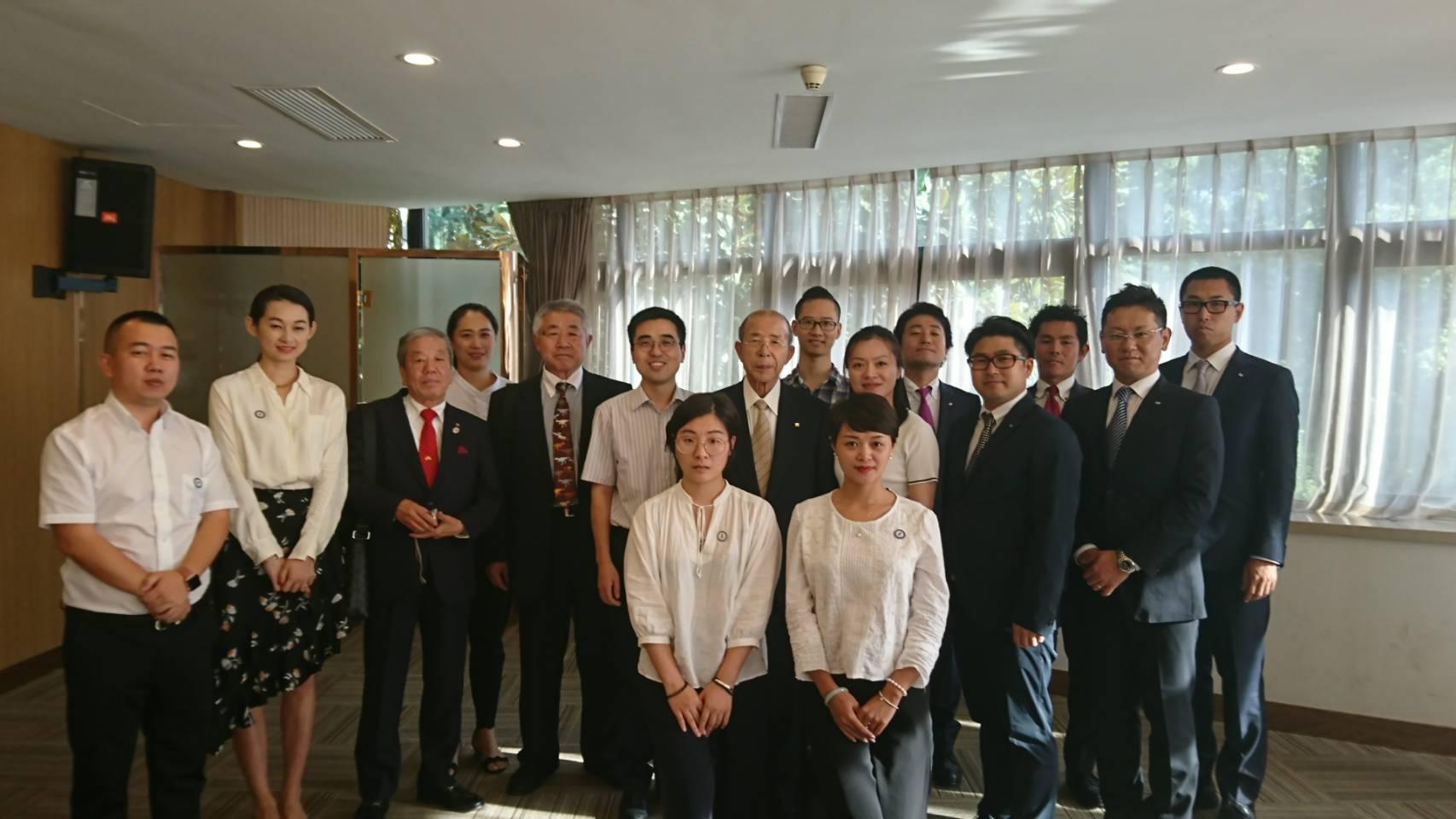 杭州市青年聯合会と交流促進